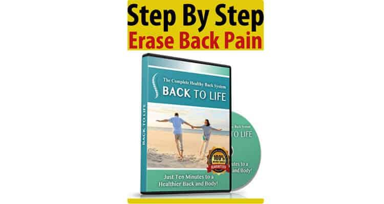 Erase My Back Pain Program