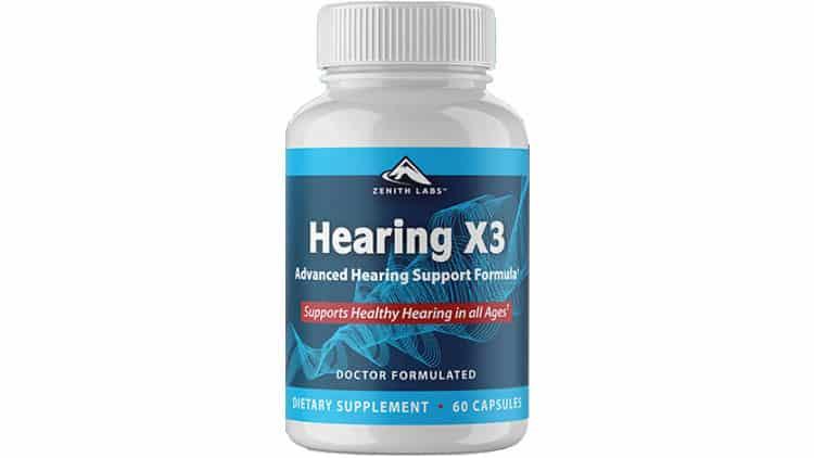 Hearing-X3-Supplement