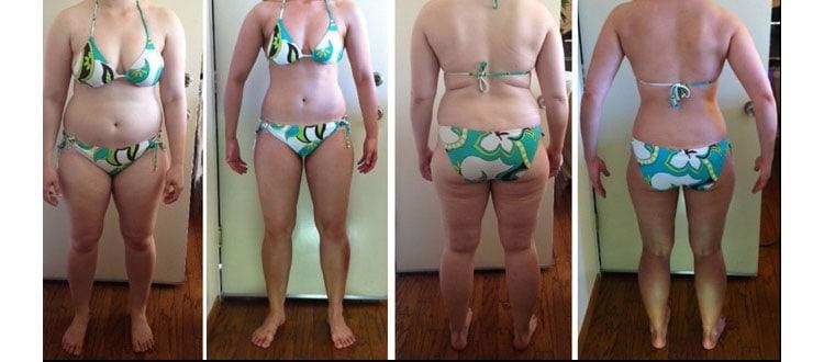 Becky 6 Week Transformation